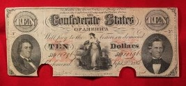 Authentic, old U.S. currency in the Brentwood, TN, area