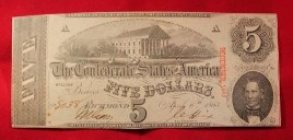 Reduced 19th Century American money in Brentwood, TN