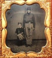 Collectable pictures of union soldiers in Brentwood, TN